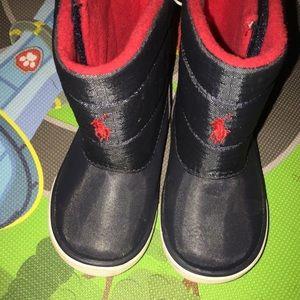 Ralph Lauren Toddler Boots Size 7